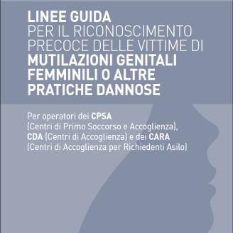 Mutilazioni genitali femminili, linee guida per gli operatori