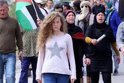 El padre de la niña palestina encarcelada pide apoyo en las redes