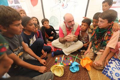 """""""No se puede iniciar un proceso de paz en Siria si no se atiende a los niños"""""""