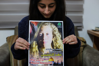 'We are proud of her': Palestinian teenagers on the importance of Ahed Tamimi