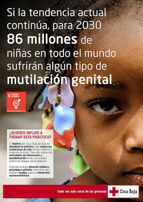 Tres millones de niñas sufren la Mutilación Genital Femenina cada año