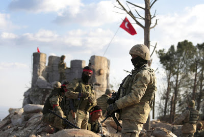 Turks Threaten al-Assad if he sends Army to Defend Syrian Kurds