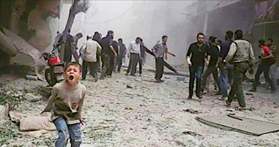 Siria, l'inferno di Ghouta toglie le parole anche all'Onu e l'urlo del bambino è inascoltato!