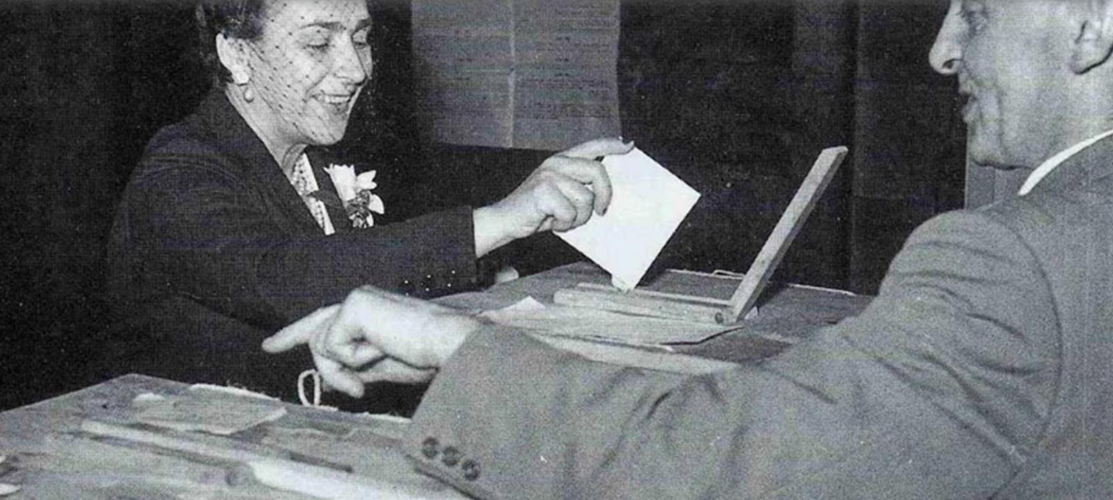 Chi era Giulia Berna, prima (dimenticata) elettrice della storia