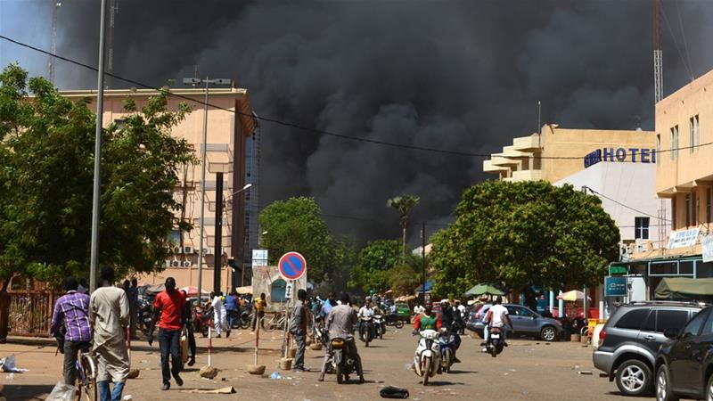 Multiple attacks reported in Burkina Faso's Ouagadougou