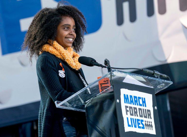 Students Lead Huge Rallies for Gun Control Across the U.S.