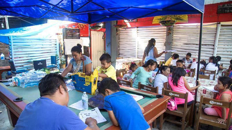 Asegurar que niños no se retrasen en estudios, reto tras sismos, dice Unicef