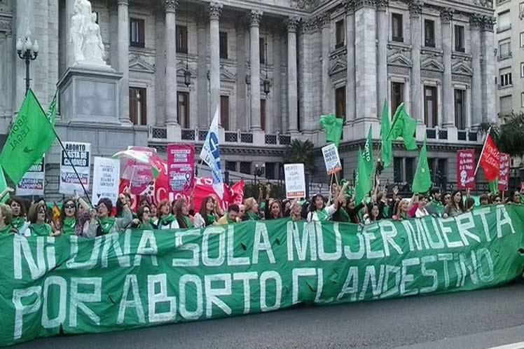 Aborto legal, el reclamo de las mujeres en Argentina