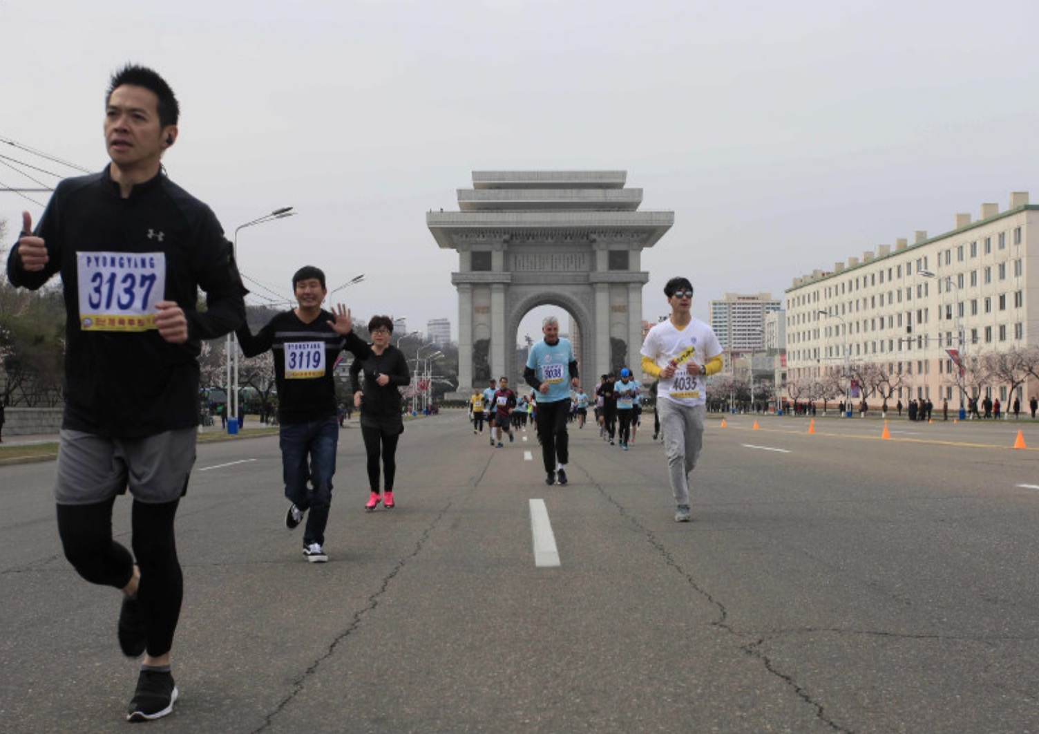 Marathon: Hundreds of foreigners join Pyongyang race as tensions ease
