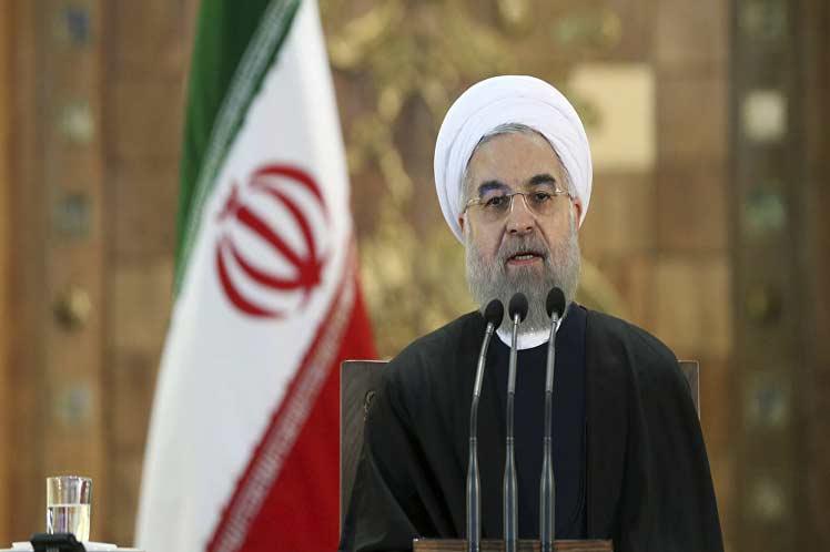 Presidente iraní anuncia incremento de poder militar disuasivo