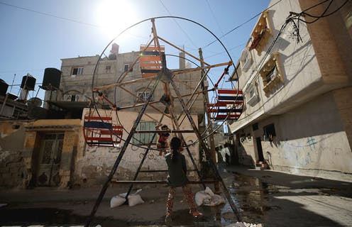 Gaza now has a toxic 'biosphere of war' that no one can escape
