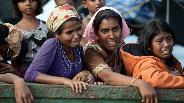 Limpieza étnica de manual en Myanmar