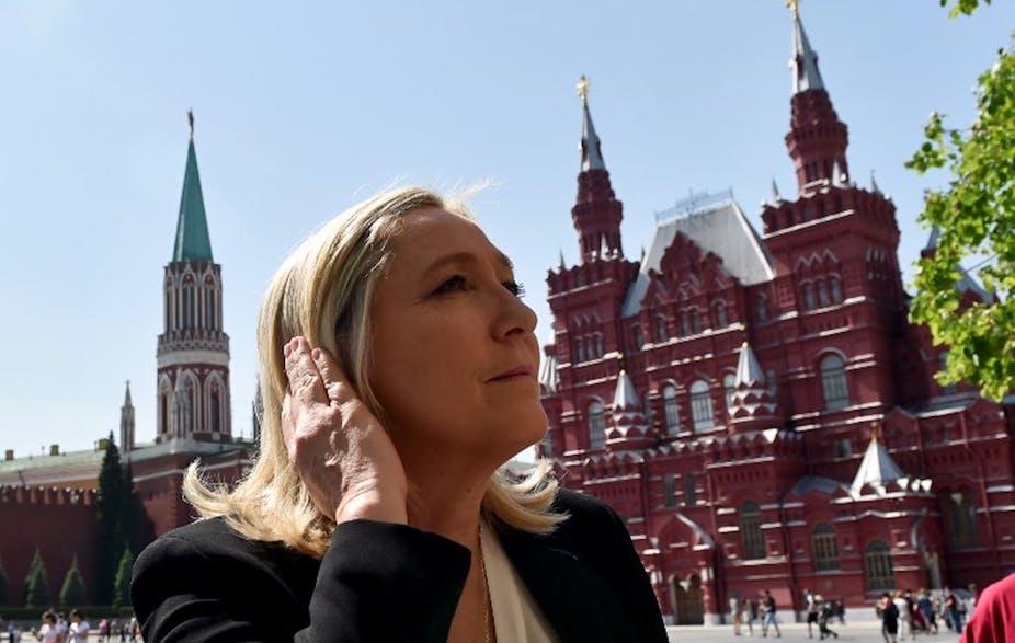 La Russie, terre promise de l'extrême droite française ?