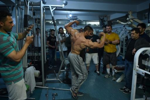 A Kaboul, le bodybuilding ou la quête de la beauté ultime malgré la violence