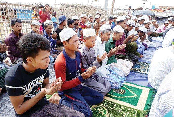 Eid brings no joy to Rohingya refugees