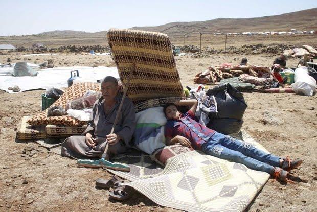 Israele chiude le porte davanti ai profughi di Deraa