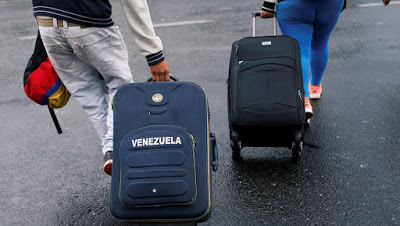 A la frontière équato-colombienne, le dur exil des migrants vénézuéliens