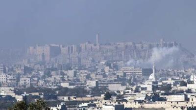 Rebeldes sirios bombardean barrio de Alepo