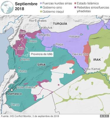 Cuando la batalla de Idlib haya terminado, ¿a dónde irán los combatientes que han jurado no rendirse nunca?