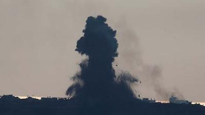 Unos 11 palestinos son heridos tras bombardeo israelí en Gaza