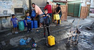 90% de la population de Gaza sans source d'eau potable saine
