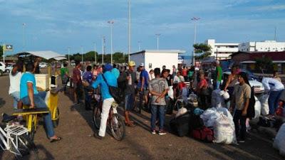Por xenofobia y violencia 250 venezolanos regresan a su país desde Brasil