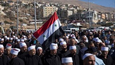 Sirios inician huelga en Altos del Golán ocupado por Israel