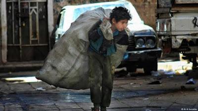Yemeni families in dire straits