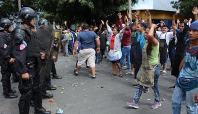 Gobierno de El Salvador condena violencia en Santa Tecla