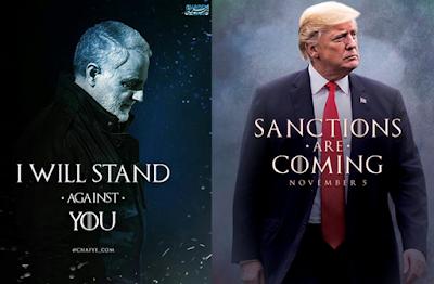 IRAN. Oggi le nuove sanzioni, la risposta di Teheran