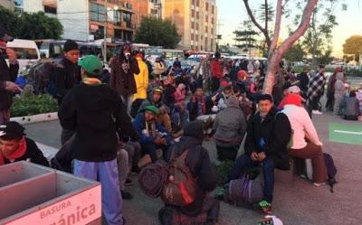 Segunda caravana migrante deja Ciudad de México y avanza hacia EE.UU.