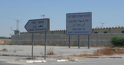 Les forces d'occupation israéliennes arrêtent un marchand palestinien au passage d'Erez