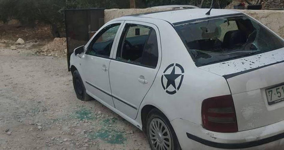 Des colons attaquent des voitures palestiniennes et une propriété au nord de Naplouse