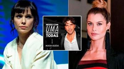 Brasileñas rechazan llegada de actor argentino acusado de abuso