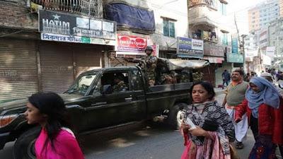 Nueve muertos durante jornada electoral en Bangladés