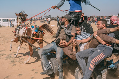 """Photo of Gaza massacre echoing Guernica is 1 of 4 commemorating horrific day in 'Time""""s year-end list"""