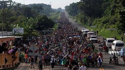 Hondureños organizan nueva caravana hacia EE.UU.