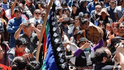 Marchan en Chile por asesinato de Camilo Catrillanca y piden justicia