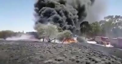 Des ballons à Gaza provoquent des incendies dans les zones frontalières israéliennes