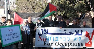 Sheikh Jarrah: Une manifestation contre l'évacuation de la famille Sabbagh