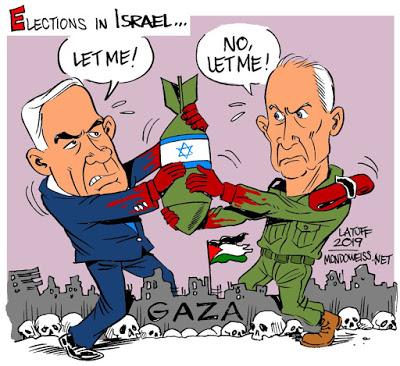 Israeli general mounts challenge to Netanyahu by flaunting Gaza carnage