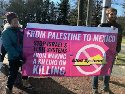 Israeli militarism and U.S. border imperialism — two crimes, one weapons company