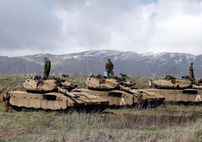 """SIRIA. Capo esercito israeliano: """"Abbiamo dato armi ai ribelli siriani"""""""