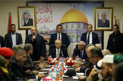 Primer ministro palestino Rami Hamdallah presenta renuncia