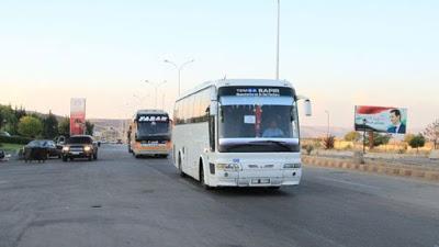 Más de 400 desplazados sirios retornan desde Jordania