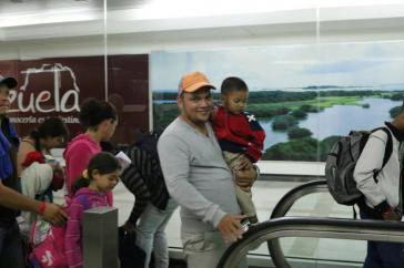 Venezuela: Keine internationale Unterstützung für Rückkehr von Emigranten