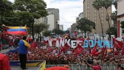 Venezuela denuncia ante el mundo intenciones golpistas de EE.UU.