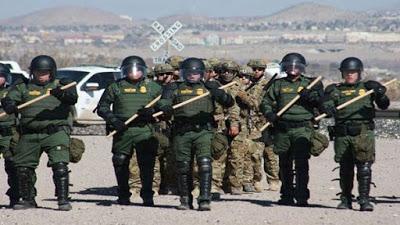 EE.UU. anuncia envío de más de 3.000 militares a la frontera