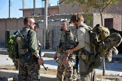 Mueren 13 yihadistas en un ataque a fuerzas kurdas e internacionales en Siria