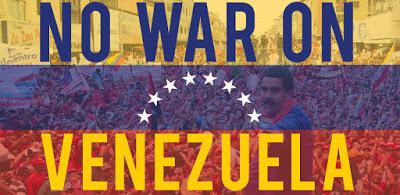 No U.S. War on Venezuela! Call to actions on Saturday, Feb.23, 2019